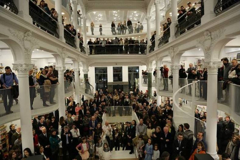 The new bookstore in Bucharest you will fall in love with