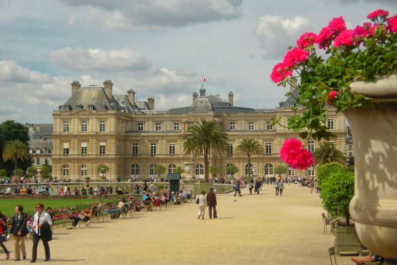 Luxembourg Gardens in Paris