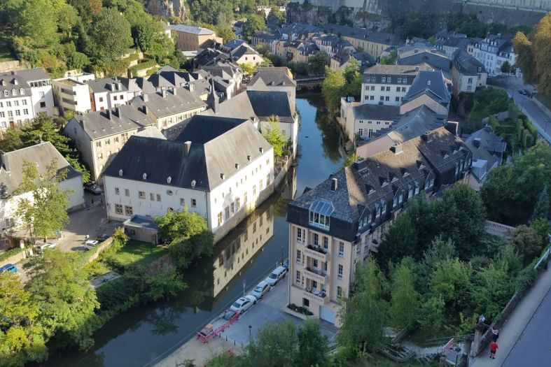 Luxembourg: A legend of a mermaid and men's curiosity