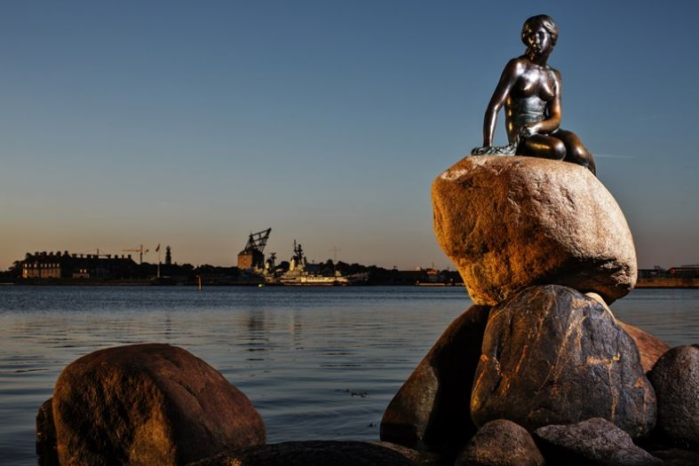 The Little Mermaid in Copenhagen and her amazing adventures