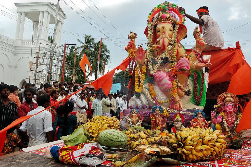 Ganesh Chaturthi festival – honour the Indian god of safe travels