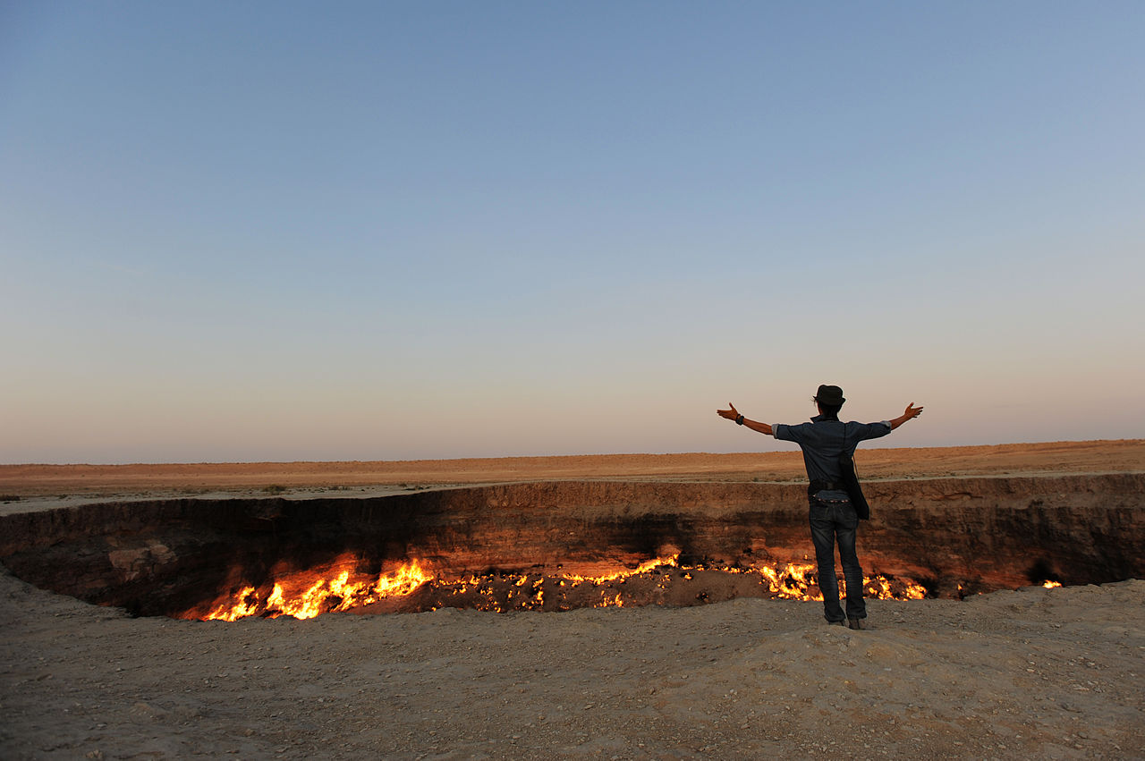 How to visit the Gates of Hell in Turkmenistan