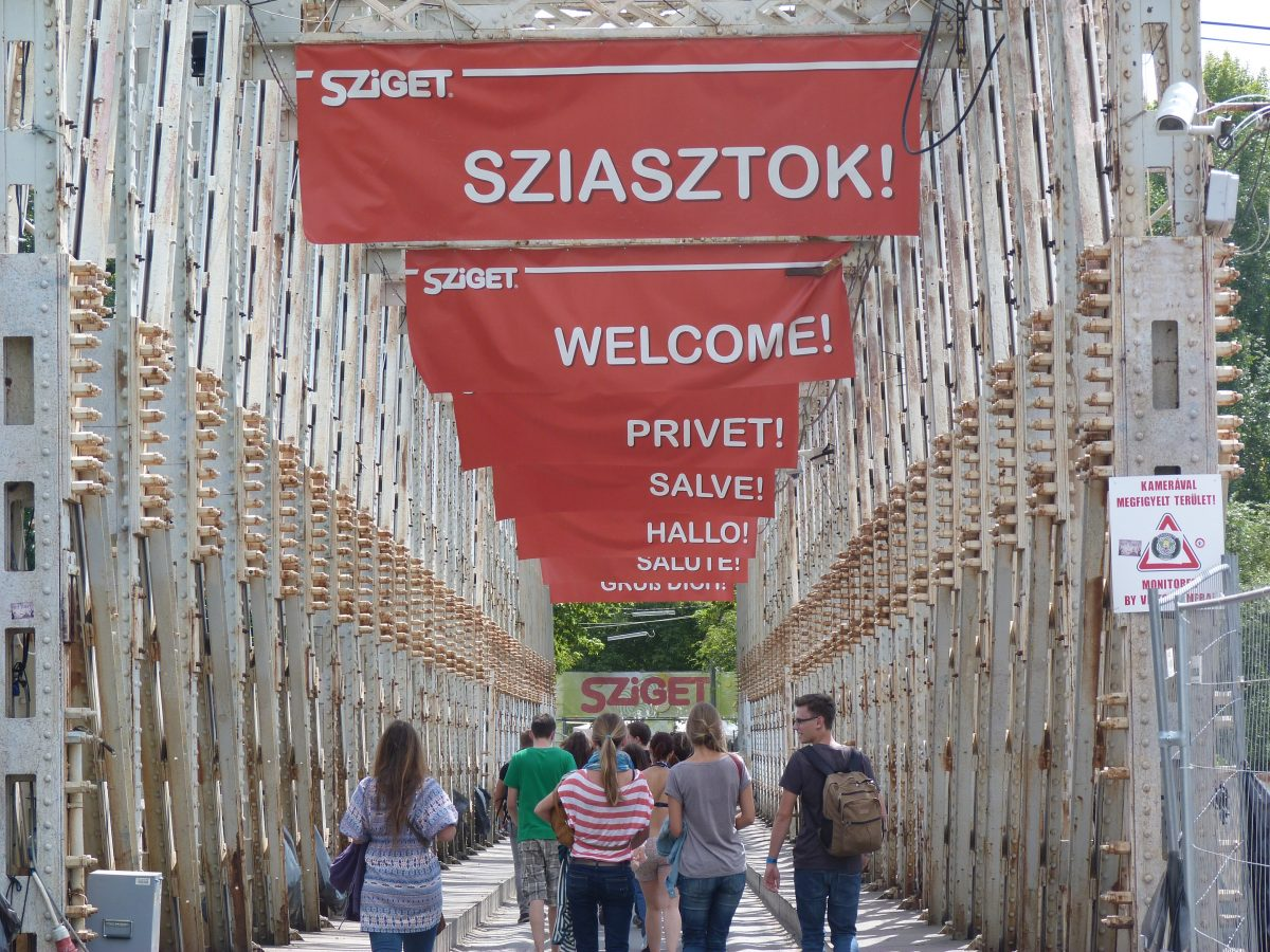 Sziget: the festival island of the Danube