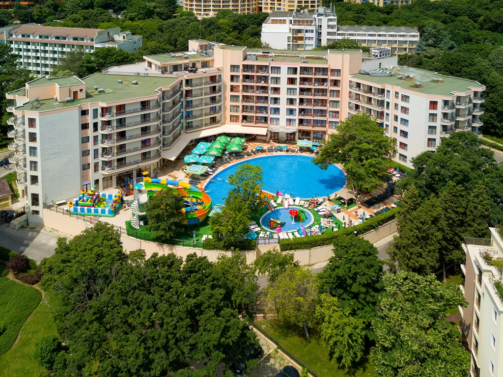 This seaside hotel in Bulgaria has its own water park