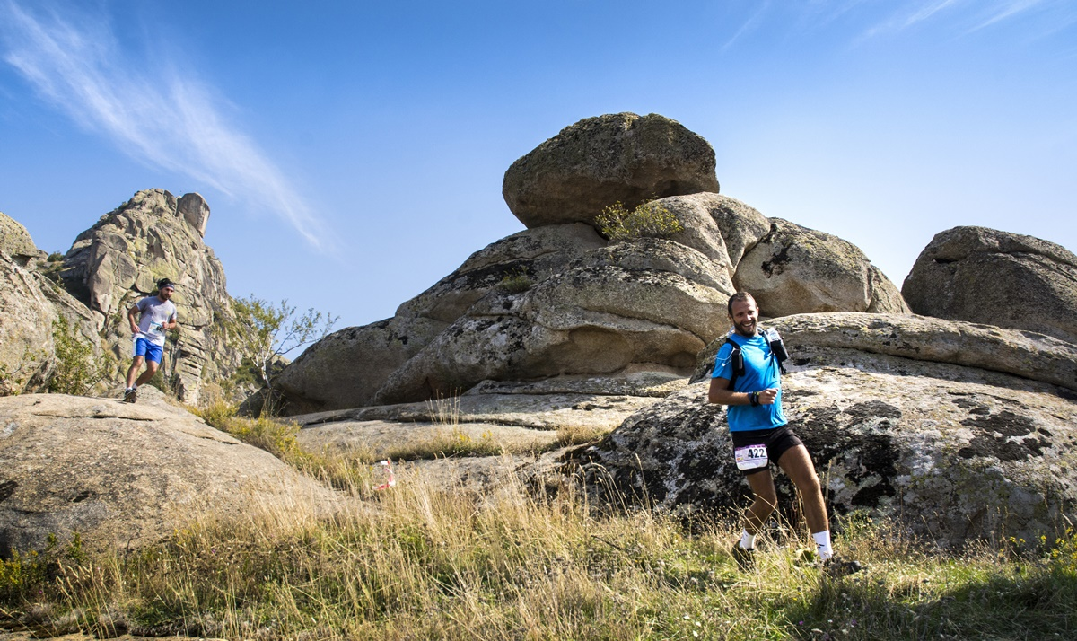Go trail running on a route full of Macedonian legends