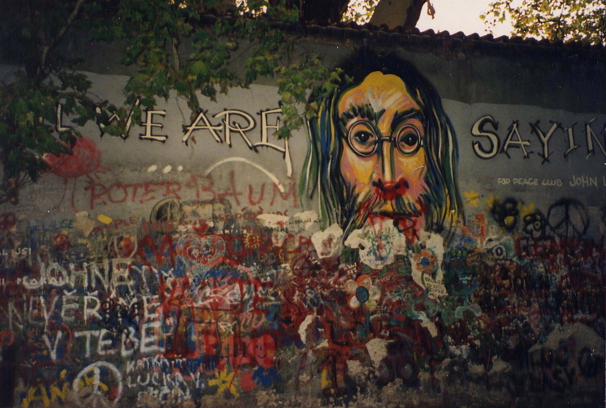 The John Lennon Wall in Prague: how it gave freedom a chance in the 1980s