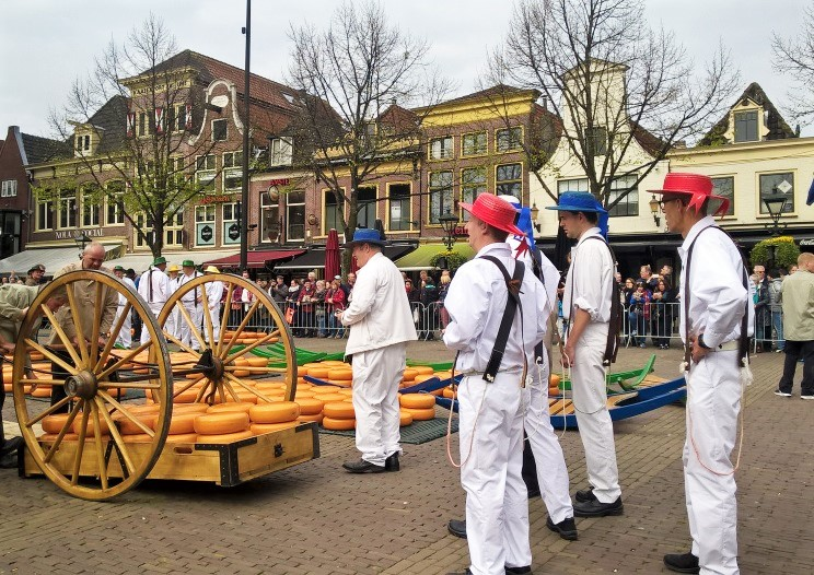 Alkmaar cheese market – taste some Dutch culinary delights