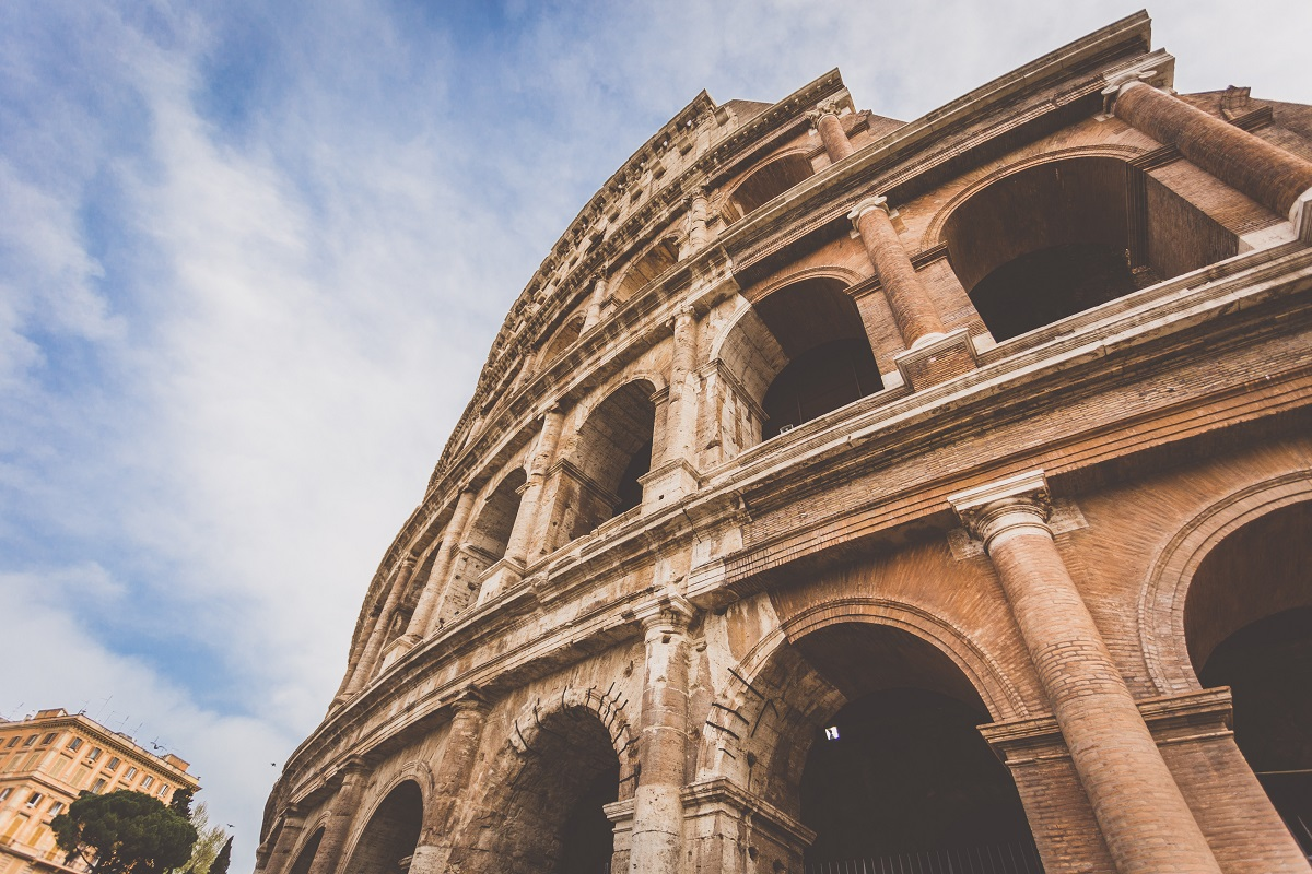 You can now climb to the top level of the Colosseum