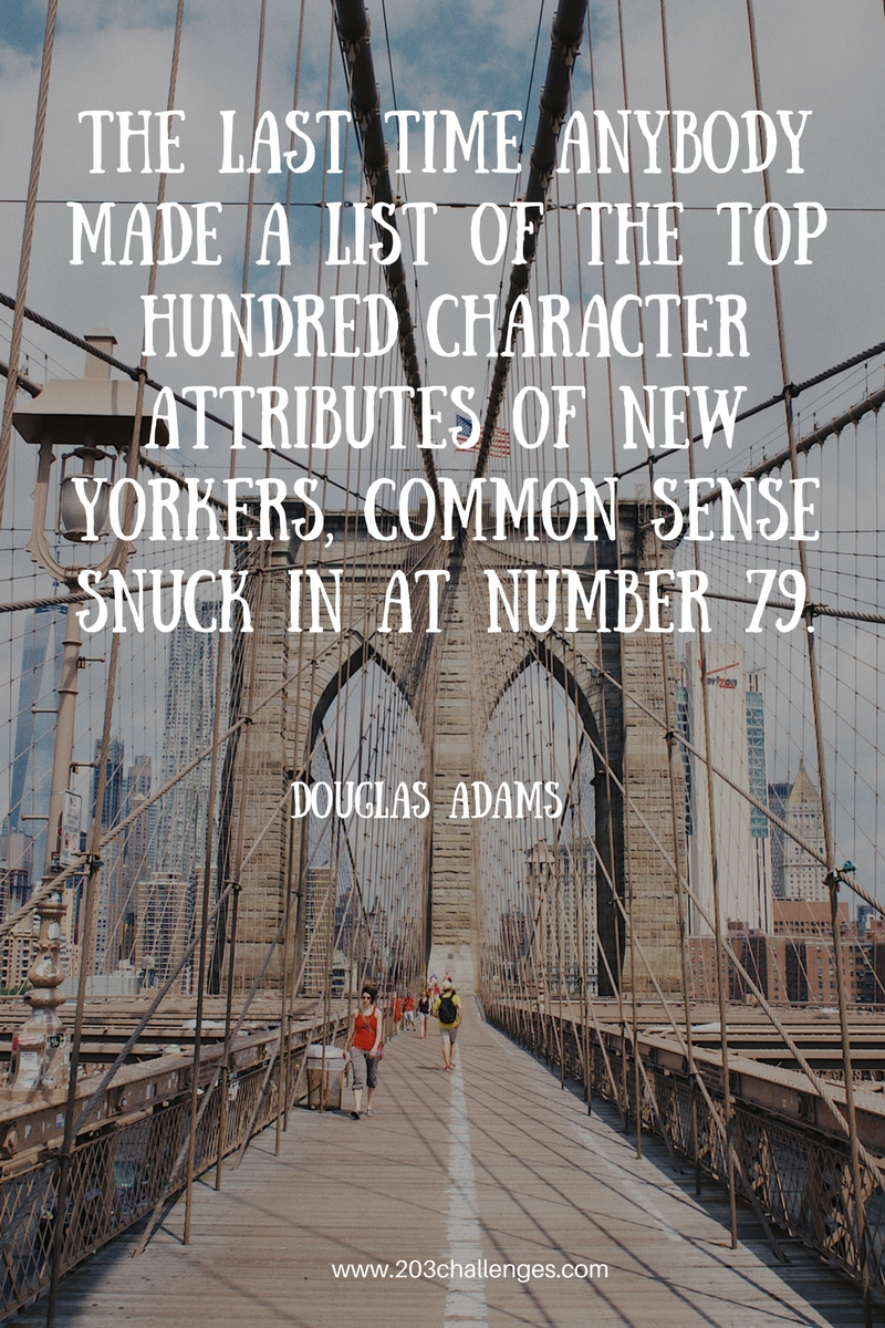 20 Famous Funny New York City Quotes 203challenges