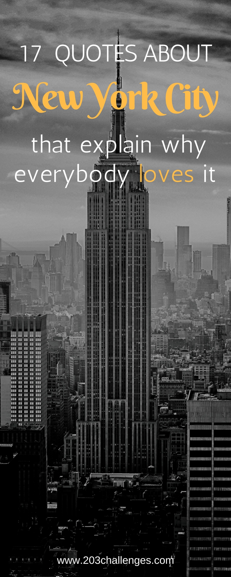New York Quotes 17 quotes about New York City that explain why everybody loves it  New York Quotes