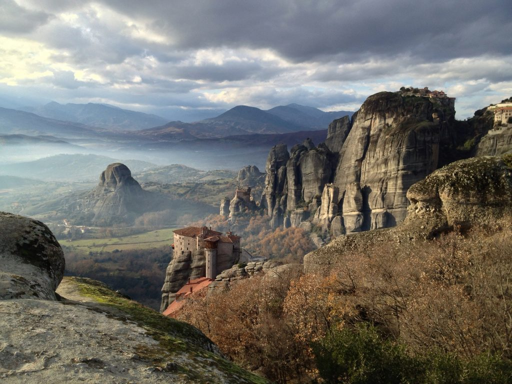 Suspended in the air: the story of Meteora, Greece