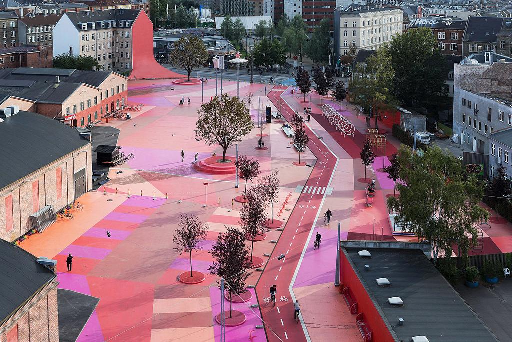 Superkilen Park: celebrate diversity in Copenhagen