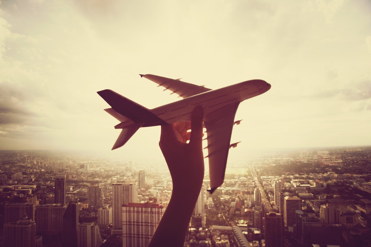 Why does frequent flying cause weight gain?