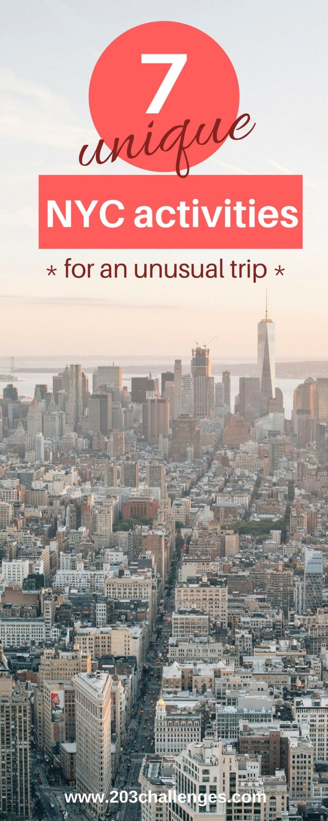 7 unique nyc activities for an unusual trip 203challenges for New york special things to do