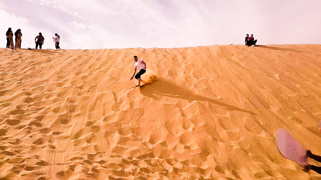 Unusual surfing experiences – deserts and volcanoes