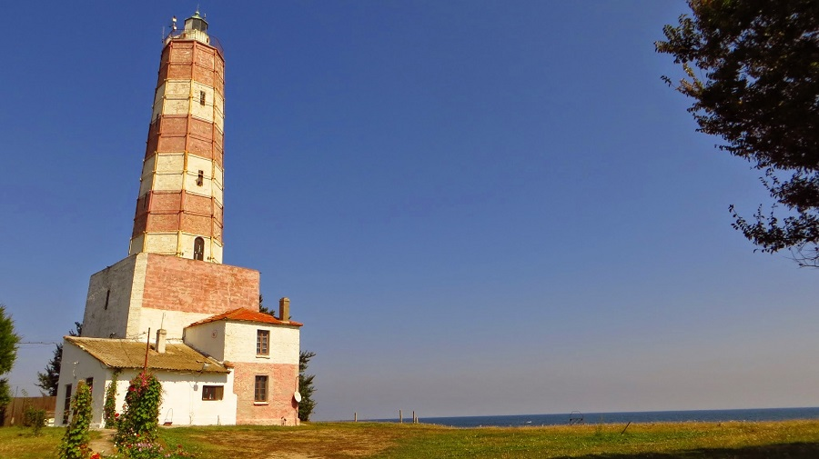 The lighthouse at Cape Shabla – the easternmost point of Bulgaria